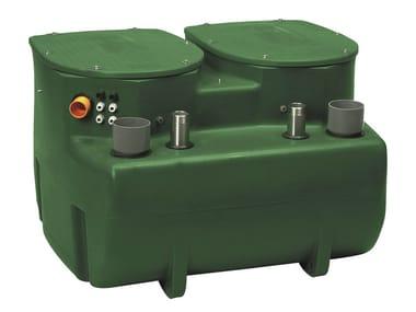 Stazione automatica di sollevamento per 2 pompe FEKAFOS 550 DOUBLE