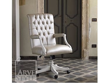 Swivel executive chair with casters FENICE | Executive chair
