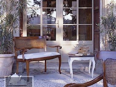 Solid wood small sofa FENICE | Small sofa