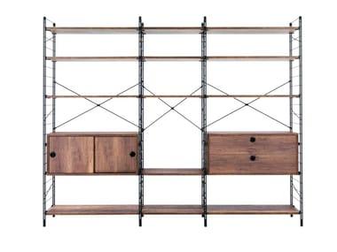 Open modular bookcase FESTIVAL HOME