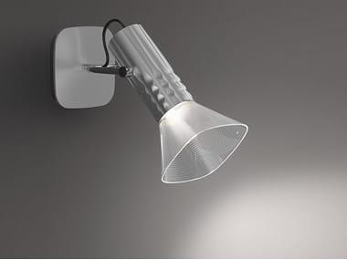 Lampada da parete a LED a luce diretta FIAMMA | Lampada da parete