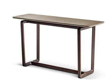 Rectangular wooden console table FIDELIO | Console table