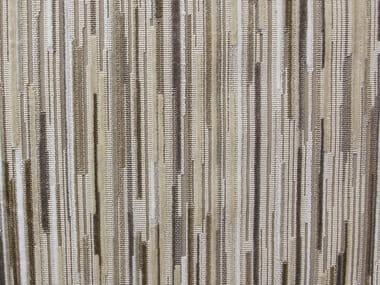Multi-colored upholstery fabric FILAMENT VELVET