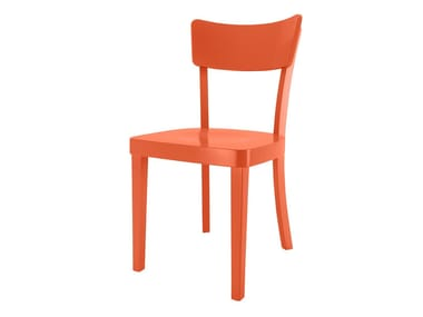 Sedia laccata in legno FILBY | Sedia laccata