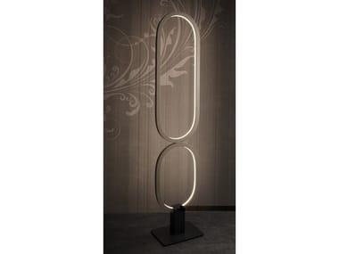 Lampada da terra a LED in alluminio FILE FLEX | Lampada da terra
