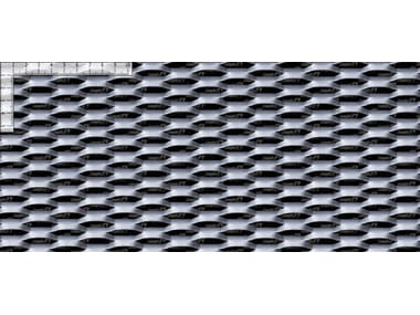 Stretched mesh for facade finish FILS 21