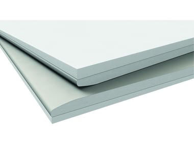 Moisture resistant gypsum plasterboard for partition walls FINE THERMAL BOARD