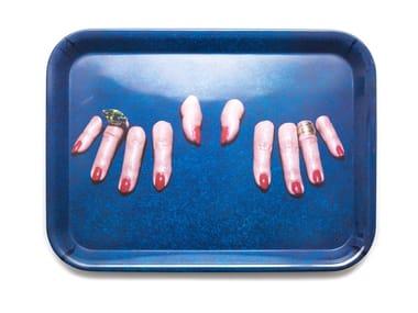 Rectangular melamine tray FINGERS | Tray