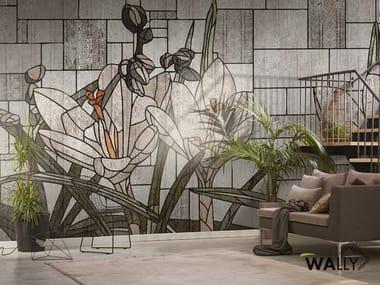 Washable nonwoven wallpaper FIONA