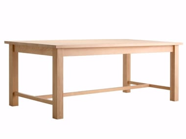 Rectangular spruce table FIR | Spruce table