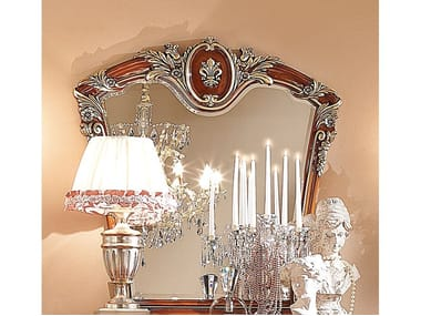 Framed wall-mounted mirror FIRENZE | Mirror