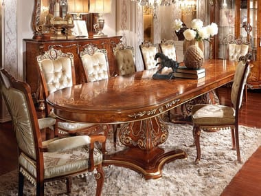Extending oval table FIRENZE | Oval table