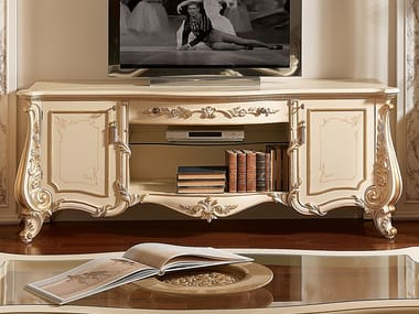 Low lacquered TV cabinet FIRENZE | TV cabinet
