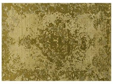 Handmade rectangular wool and silk rug FIRUZABAD GOLD