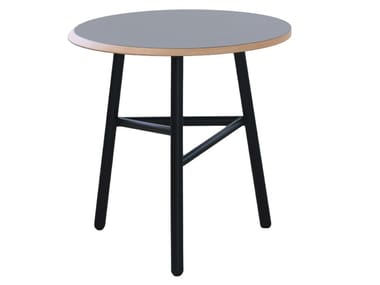 Round wooden table FIZZ   Table