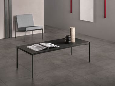Porcelain stoneware wall/floor tiles with stone effect FJORD DUSTY