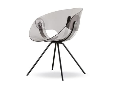 Polycarbonate chair FL@T POLYCARBONATE | Chair