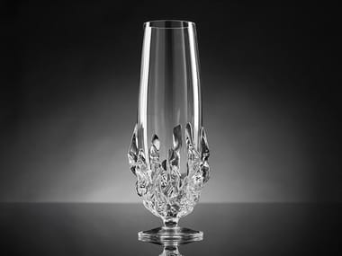 Glass champagne glass FLAME SMALL | Champagne glass