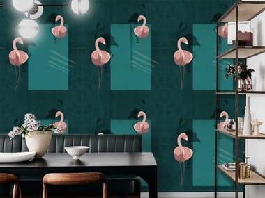 Wall tiles / wallpaper FLAMINGO