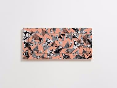 Folding plywood wall shelf FLÄPPS 60x27x1 - PS COLLAGE 3