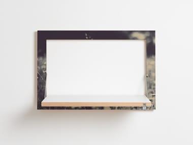 Mensola ribaltabile in compensato FLÄPPS 60x40x1 - WILD AND FREE