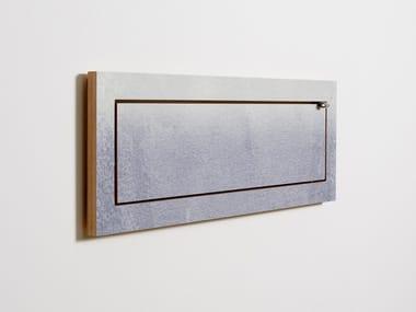 Mensola ribaltabile in compensato FLÄPPS 80x27x1 - FADING GREY