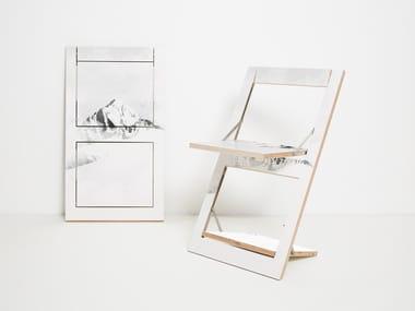 Folding plywood chair FLÄPPS FOLDING CHAIR - VALLUNARAJU