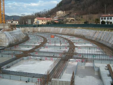 Disposable formwork FLASHFOND EVO