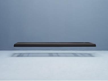 Single metal bed base FLAT