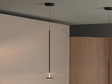 LED metal pendant lamp FLAT 5935 | Pendant lamp