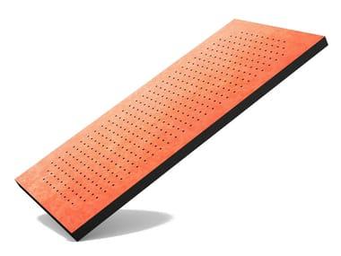 Foam decorative acoustical panel FLAT PANEL PRO