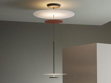 Lámpara colgante LED de metal FLAT 5930 | Lámpara colgante