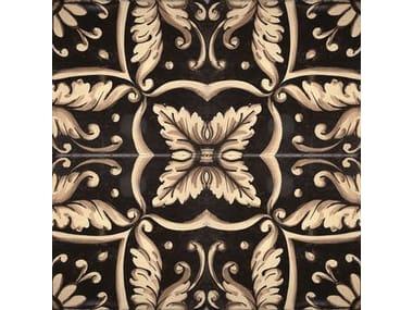 Wall/floor tiles FLEUR BLACK