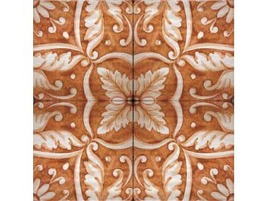 Wall/floor tiles FLEUR ORANGE