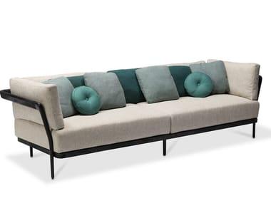 3-er Sofa aus Stoff FLEX   3-er Sofa