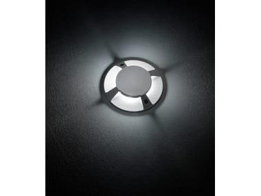 Segnapasso a LED a pavimento in alluminio pressofuso FLEX.C F.8218