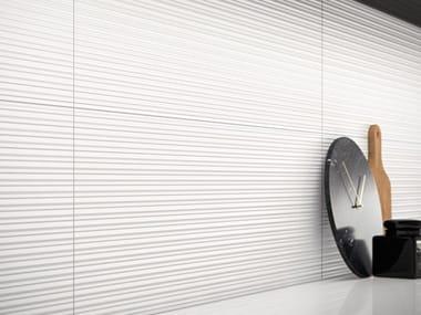 Glass ceramic 3D Wall Cladding FLICK