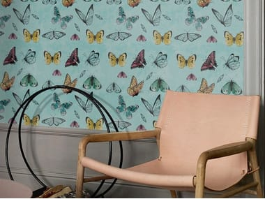 Revestimento de parede / Papel de parede FLIGHT OF BUTTERFLIES