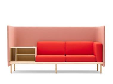 Canapé en tissu avec rangement FLOATER   Canapé avec rangement