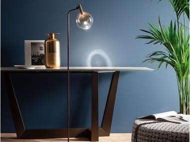 Borosilicate glass floor lamp SOFÌ | Floor lamp