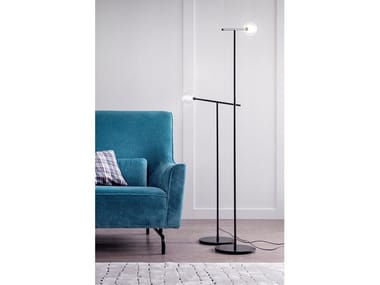Direct light metal floor lamp BRILLO | Floor lamp