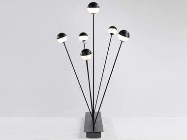 LED floor lamp with dimmer ALFI | Floor lamp with dimmer