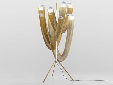 Aluminium floor lamp AURA | Floor lamp