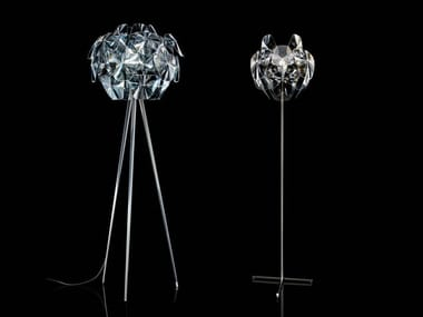 LED direct-indirect light polycarbonate floor lamp HOPE | Floor lamp