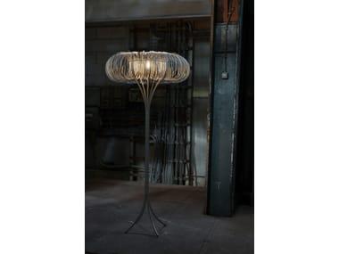 LED metal floor lamp ROUNDABOUT | Floor lamp