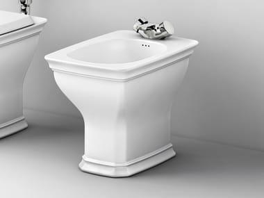 Floor mounted ceramic bidet CIVITAS | Floor mounted bidet