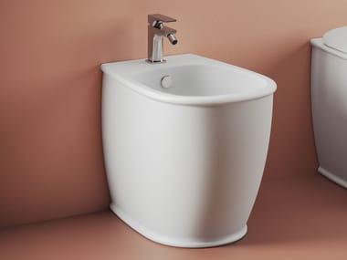 Floor mounted ceramic bidet ATELIER | Floor mounted bidet