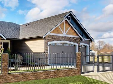 Extruded aluminium Fence / gate FLORA
