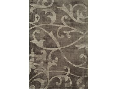 Hand-tufted rug FLORIAN BROWN