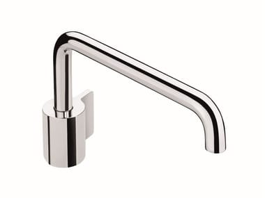 Single handle brass washbasin mixer FLOW 2540101 | Washbasin mixer